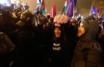 مظاهرات حاشدة في هنغاريا بسبب قانون العمل (ِشاهد)