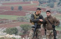 جندي لبناني يشهر سلاحه بوجه جنود إسرائيليين (شاهد)