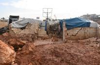 بسبب السيول.. 32 ألف نازح سوري ينتظرون مساعدات عاجلة (صور)