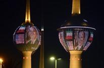 إضاءة أبراج الكويت بصورة بوش الأب تغضب السعوديين (شاهد)