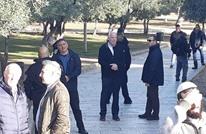 وزير إسرائيلي متطرف يقود اقتحامات الأقصى (شاهد)