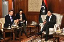 وزير خارجية إيطاليا يعقد لقاءين منفصلين مع السراج وحفتر