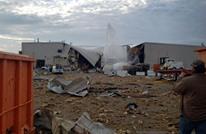 انفجار بمصنع للطائرات بولاية كانساس بأمريكا