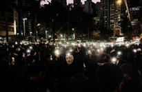بملابس سوداء.. مئات الآلاف بهونغ كونغ يطالبون بالديمقراطية (شاهد)