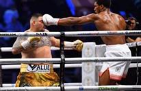ملاكمة: جوشوا ينتزع بطولة العالم في السعودية