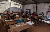 """خيمة النازح في إدلب.. """"مأوى ومدرسة"""" (صور)"""