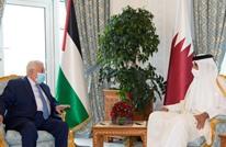 عباس يطلع أمير قطر على آخر تطورات الأوضاع في فلسطين