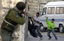 """""""عربي21"""" تحاور مقدسيا استهدف الاحتلال عيون أطفاله (صور)"""