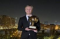 """هالاند يتسلم جائزة """"الفتى الذهبي"""" لعام 2020 في الدوحة"""