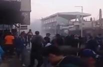شغب واعتداء على حكم خلال مباراة بالدوري السوري (شاهد)