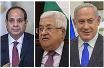 السيسي بدأ اتصالات لاستئناف المفاوضات بين رام الله والاحتلال