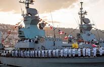 إسرائيل تتسلم سفينة حربية متطورة لحماية منصات الغاز البحرية