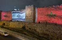 سلطات الاحتلال تنير أسوار القدس المحتلة بعلم المغرب (شاهد)