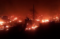 إحراق عشرات الخيام للاجئين السوريين في لبنان (شاهد)