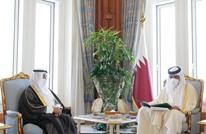 أمير قطر يتسلم دعوة من الملك سلمان لحضور القمة الخليجية