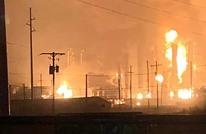 انفجار ضخم يهز ثاني أكبر مصفاة للنفط بجنوب أفريقيا (شاهد)