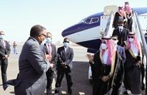 وزير خارجية السعودية يصل الخرطوم ويلتقي حمدوك والبرهان