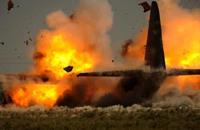 مصرع 16 عسكريا أمريكيا بتحطم طائرة عسكرية بالميسيسبي