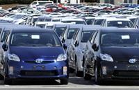 """الوسائد الهوائية تدفع """"تويوتا"""" لاستدعاء 1.6 مليون سيارة"""