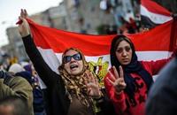 مسيرات وتظاهرات تضامنا مع مرسي في مصر