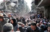 """كي مون: اليرموك """"مخيم للموت"""" وأهله رهائن بيد تنظيم الدولة"""
