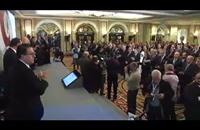 افتتاح ملتقى الأعمال المصري - اللبناني ببيروت (فيديو)