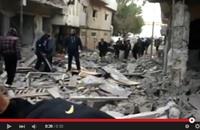 آثار الغارات المصرية على درنة الليبية (فيديو)
