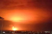 النظام: إسقاط صواريخ إسرائيلية فوق مطار دمشق (شاهد)