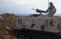 """الأردن يراقب الاقتتال على حدوده وتخوف من """"عرسال أردنية"""""""
