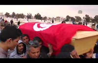تشييع جثمان رجل أمن تونسي قتل في هجوم بالقيروان