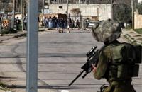 قمع مسيرة رافضة لزيارة رئيس دولة الاحتلال إلى الخليل