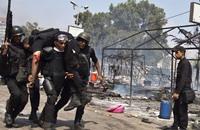"""13 قتيلا من الشرطة المصرية بهجوم مسلح تبنته """"ولاية سيناء"""""""