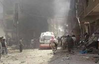 عشرات القتلى في انفجار قرب مسجدين بريف دمشق