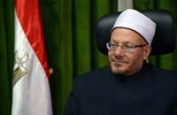 مفتي مصر للسيسي: الله اختارك لنصر الأمة على الخوارج