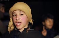 """""""الدولة"""" تنشر فيديو لردود فعل سكان حلب على حرق الكساسبة"""