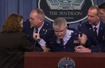 جنرال أمريكي يفقد الوعي وهو في مؤتمر صحفي (فيديو)
