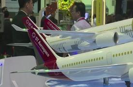 افتتاح معرض سنغافورة الدولي للطيران