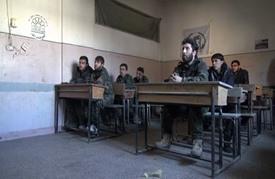 معسكر للمتطوعين في حلب للتصدي لهجوم قوات النظام