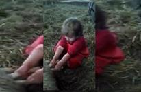 طفلة عمرها 3 سنوات تجري عملية ولادة لنعجة (فيديو)