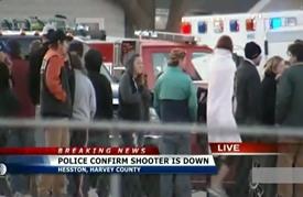 أربعة قتلى و30 جريحا في إطلاق نار في كانساس