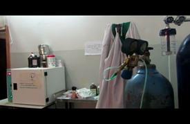 مشفى تحت الأرض في إدلب السورية تجنبًا للقصف
