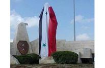 النظام يعيد تمثالا للأسد الأب بحماة أزاله ببداية الثورة