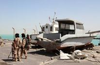 ضباط سعوديون يتسلمون مواقع يمنية بعد انسحاب الإمارات