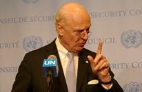 دعوات لاستقالة دي ميستورا بعد تصريحات بشأن معركة إدلب