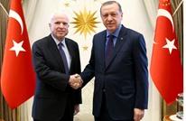 أردوغان يستقبل السيناتور الجمهوري ماكين بأنقرة