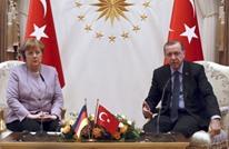 """ميركل تستعمل عبارة """"الإرهاب الإسلامي"""" وأردوغان يقاطعها"""