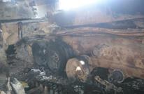 لواء الأقصى يحرق دباباته قبل ذهابه إلى تنظيم الدولة (صور)
