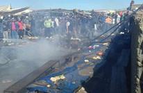 مصرع 3 أشخاص في انفجار لقنينة غاز بسوق شعبية بالمغرب (شاهد)
