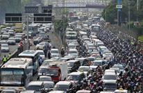 تطبيق إلكتروني لحل الازدحام المروري في إندونيسيا