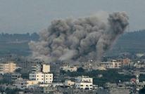 قصف للاحتلال الإسرائيلي في غزة وإصابة فلسطيني